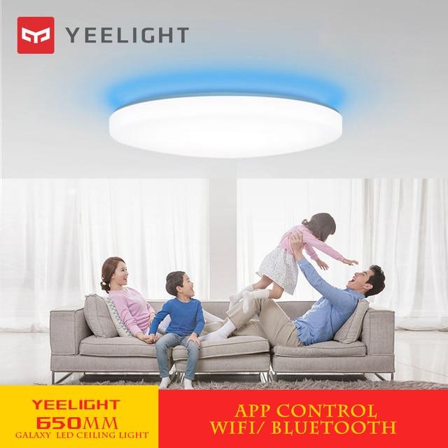 xiaomi mijia Yeelight led ceiling light 650mm modern smart homekit lamp for living/dining/study room kitchen bedroom remote /APP