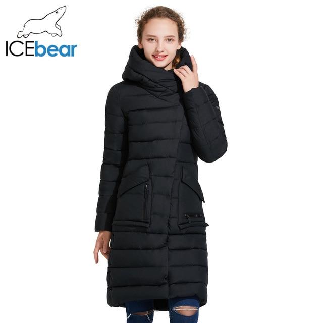 ICEbear 2017 Женская толстая куртка 16G6233D
