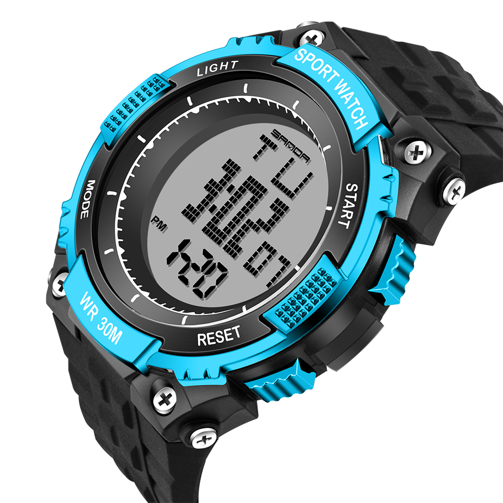 Reloj Sport Men Watches Relojes de buceo digital Outdoor Swim diseño - Relojes para hombres - foto 1