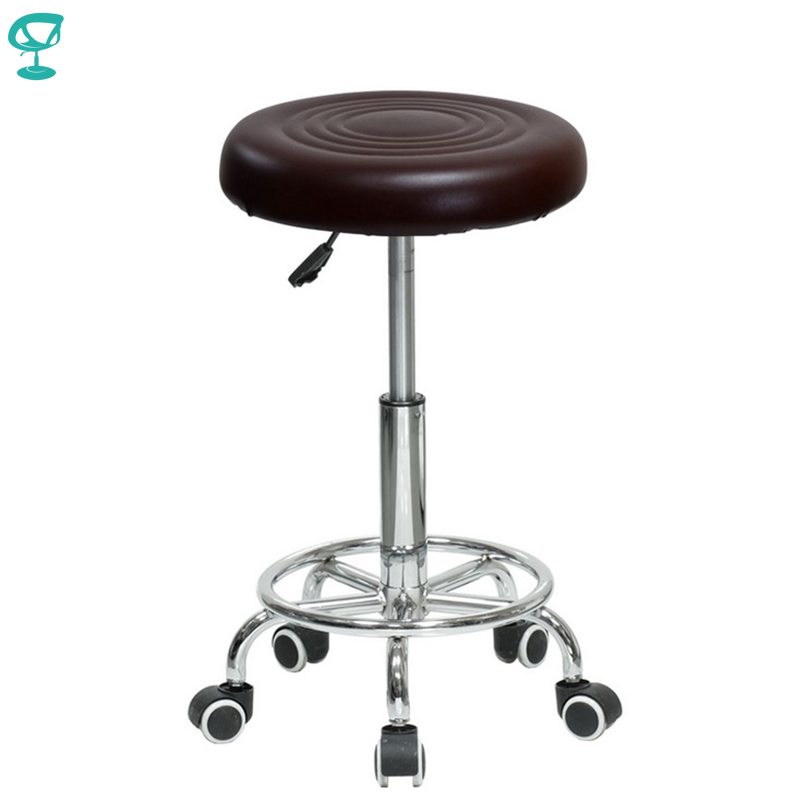 94779 Barneo N-127 Eco-leather Kitchen Breakfast Interior Stool Bar Chair Kitchen Furniture Brown Free Shipping In Russia