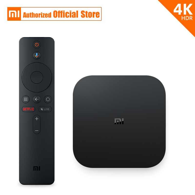 Global Original Xiaomi Mi Box S 4K HDR Android TV 8 1 Mi Boxs 2G 8G