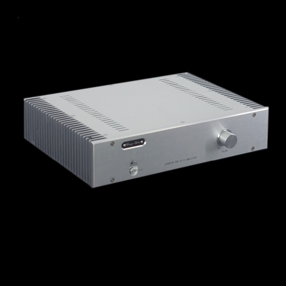 Finished 933 2SC3264 2SA1295 Power Amplifier HiFi Stereo 120W 120W Audio Amp Reference German Burmester 933