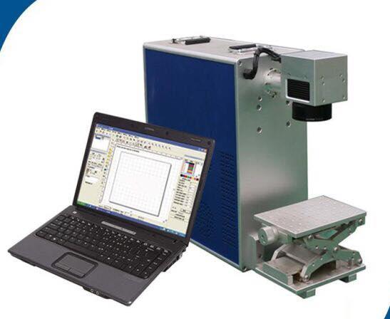 10w Portable Type Metal FIBER LASER MARKING MACHINE
