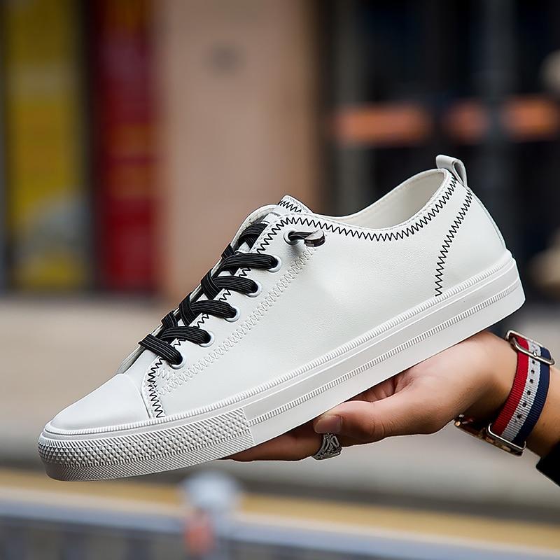 Estudiantes blanco Lona Tablero 2018 Casual Nueva Tendencia Negro Zapatillas De 3 Los Respirables Hombre Moda Zapatos Negro Blanco Hombres qvgUwFXWF