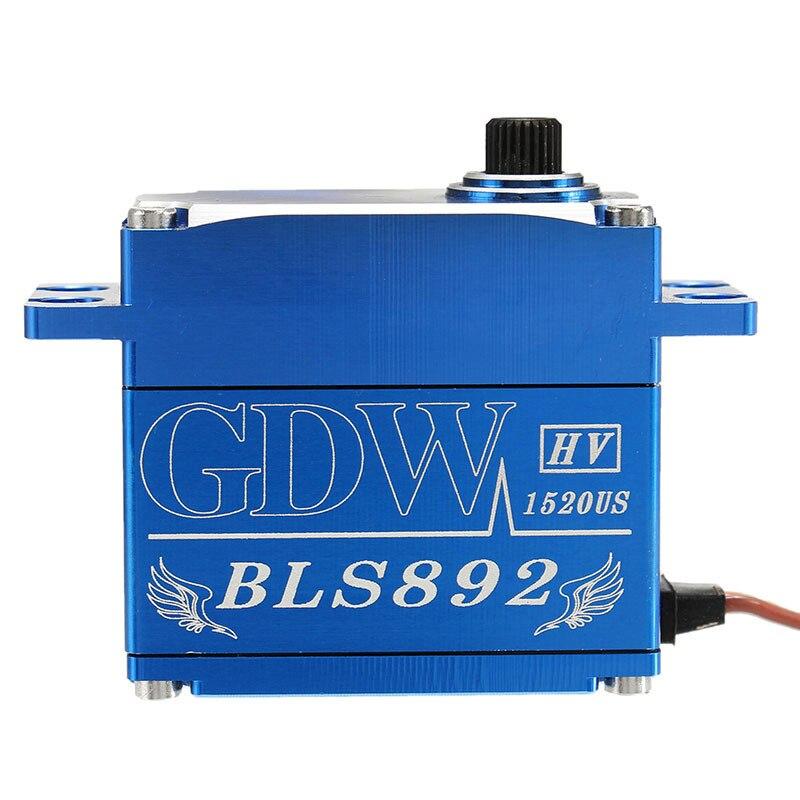 Original GDW 892 895 26 KG sin escobillas Digital plato cíclico cerradura Servo cola para 550 SAB 700 helicóptero-in Partes y accesorios from Juguetes y pasatiempos    1