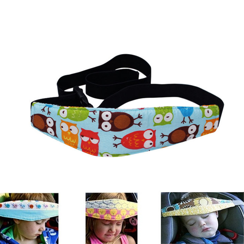 Baby Head Support Holder Protector Kids Sleeping Belt Car Seat Sleep Nap Holder Tie Stroller Safe Chair Holder Belt Fixing Band