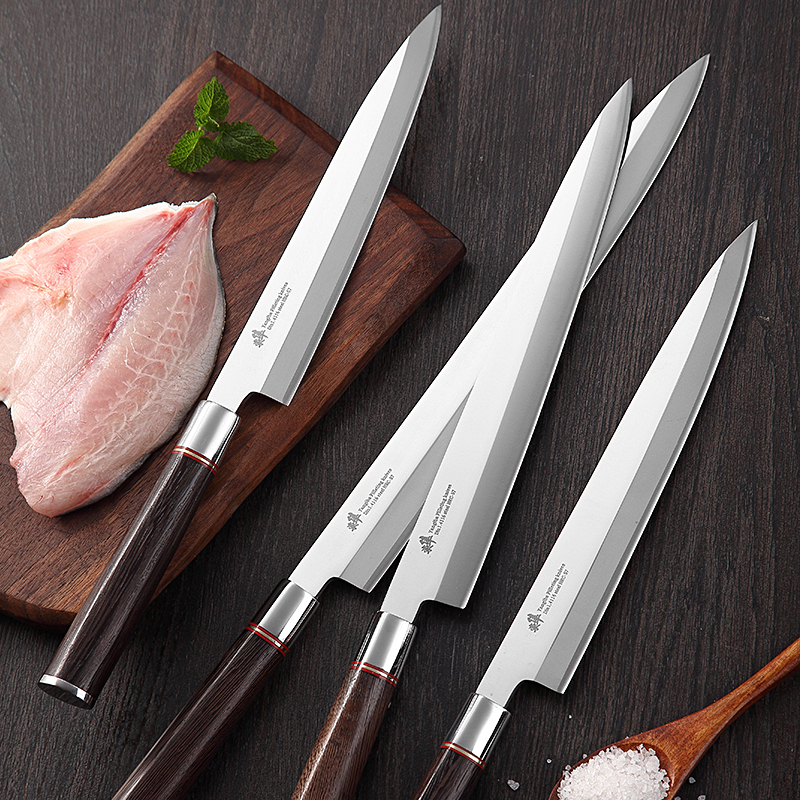 Japanese  sashimi knife Yanagiba Filleting Knives Sushi Cleaver Salmon Sllicing  Petty Peeling manufacturingJapanese  sashimi knife Yanagiba Filleting Knives Sushi Cleaver Salmon Sllicing  Petty Peeling manufacturing