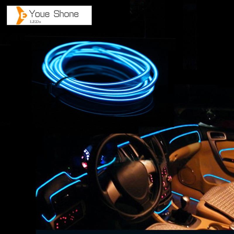 Youe Shone Interior Car Lighting EL LED 12V Car Interior