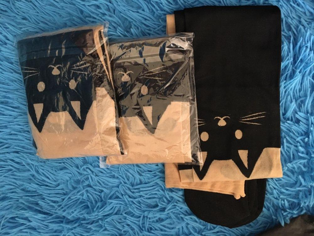 Новый сексуальный девушки колготки Дизайн печатным рисунком татуировки чулки кошка формы 4 стиль Sheer Колготки Мок чулки колготки