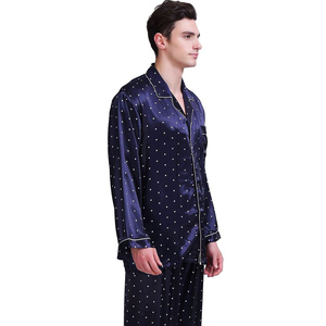 "Image 3 - Mens משי סאטן פיג מה סט פיג סט PJS הלבשת סט Loungewear ארה""ב, S, M, L, XL, XXL, 3XL, 4XL"