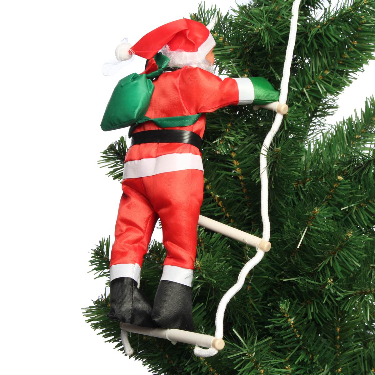 pendant climbing gifts ladder drop in outdoor new item rope tree with santa claus decor decorations for ornaments mall feliz christmas navidad from home year