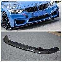 M3 M4 PSM Style Carbon Fiber Front Bumper Chin Lip Spoiler for BMW F80 M3 F82 F83 M4 2014 up Original M Bumper car accessories