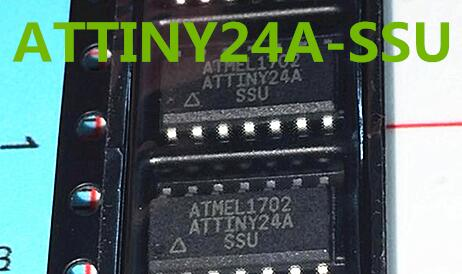 100% NEW Free shipping ATtiny24A-SSU ATTINY24A sop14 MODULE new in stock  Free Shipping