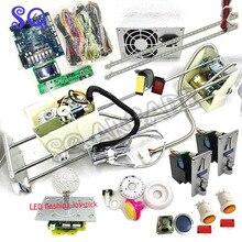 S/M/L/XL/XXL dźwig z chwytakiem PCB PP tygrys żuraw maszyna DIY zestaw z automat do gry typu Claw przyciski joysticka wrzutnik do monet głośnik