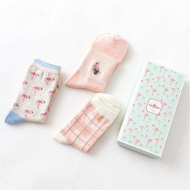 """Комплект носков """"фламинго-2"""", 3 пары"""