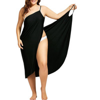 beach dress Women female summer dress Women boho dress 2018 summer style Women clothing vestido plus size 4XL 5XL 6XL bohemian