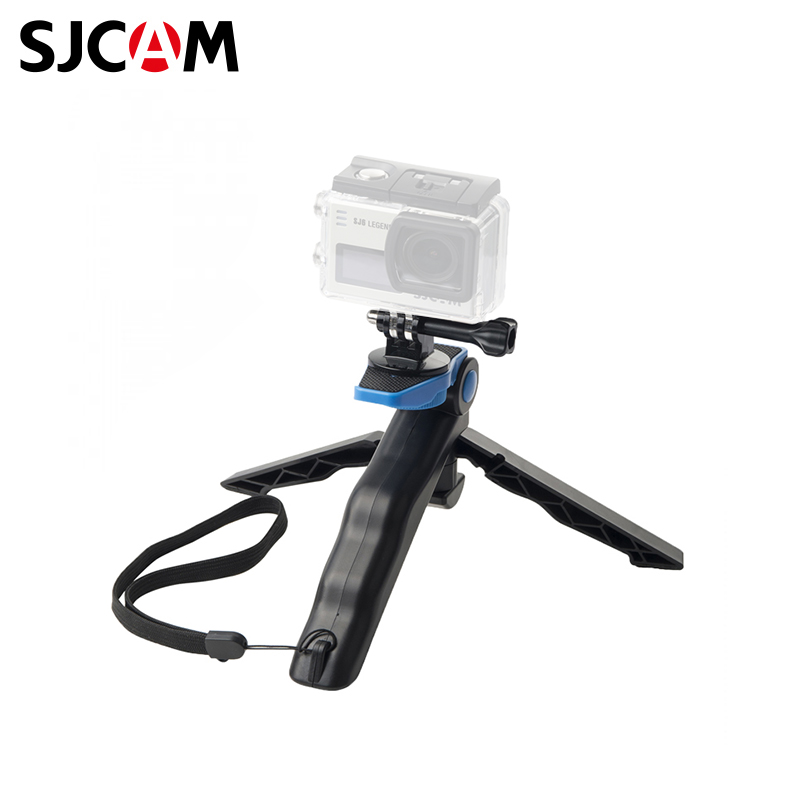SJCAM Portable hand-held tripod qzsd q888 tripod monopod aluminum alloy with ball head portable detachable changeable travelin for slr camera dslr camcorder