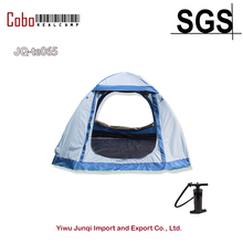 2-3 Person Outdoor beach Inflatable Camping backpacking air dome tent with air TPU tube