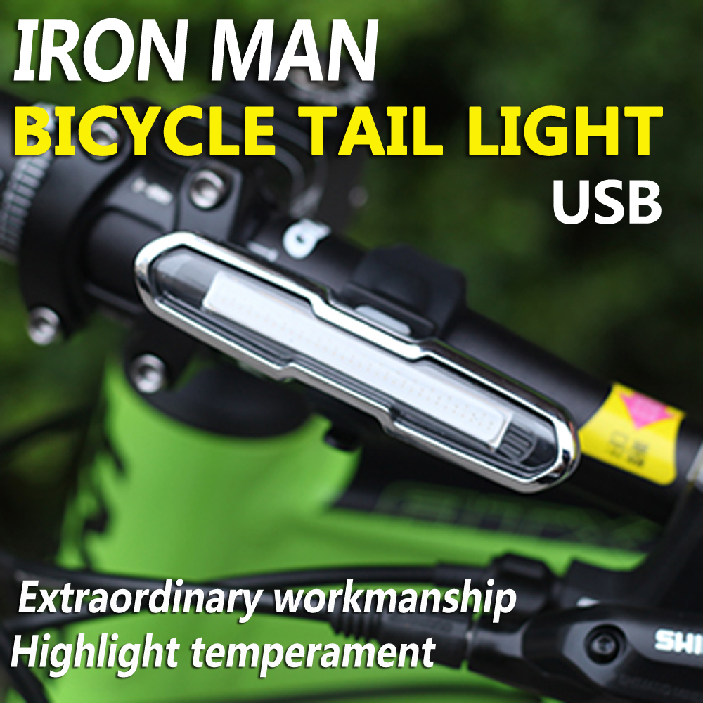 MTB, USB, Cycling, Accessories, Lamp, Tail