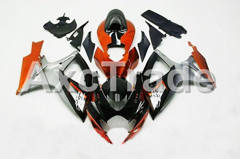 Мотоцикл Обтекатели для Suzuki GSXR системы GSX-Р 600 750 GSXR600 GSXR750 2006 2007 К6 АБС-пластик инъекции обтекатель кузова комплект 1521