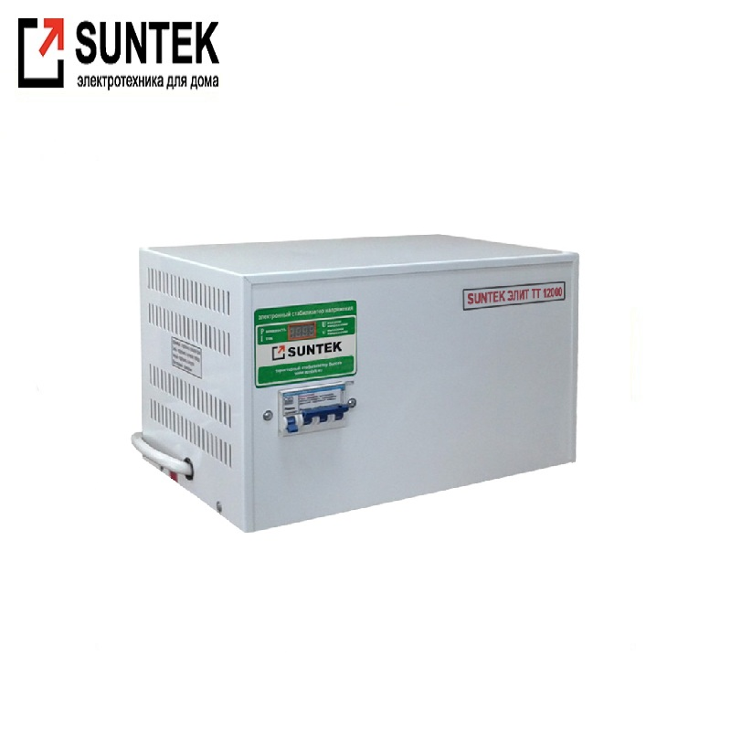 Voltage stabilizer thyristor SUNTEK Elite TT 12000 VA AC Stabilizer Power stab Stabilizer with thyristor amplifier nd431625 100% import genuine dual thyristor modules 250a1600v quality