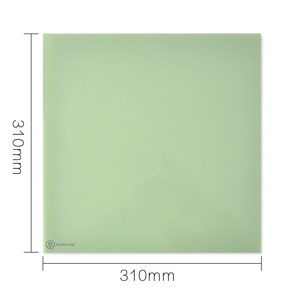 Plaques de construction en polypropylène pour plate-forme d'imprimante 3D Ultrabase Mamorubot 310-310mm pour imprimante 3D CR-10 CR-10S