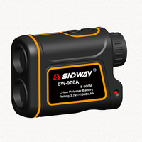 SNDWAY Hot Sale Telescope Laser Rangefinders Distance Meter Digital 8X 900M Monocular Hunting Golf Laser Range