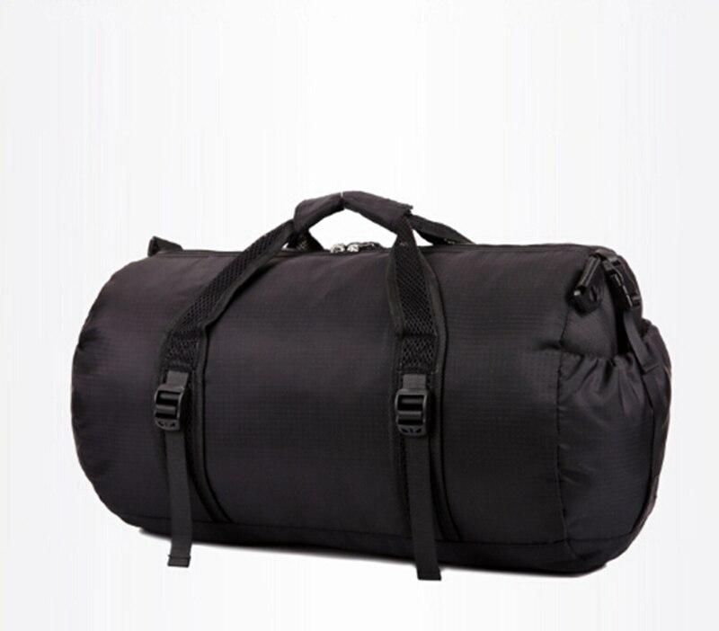 NEW foldable men tote travel bag travel nylon duffle bag portable shoulder travel bag