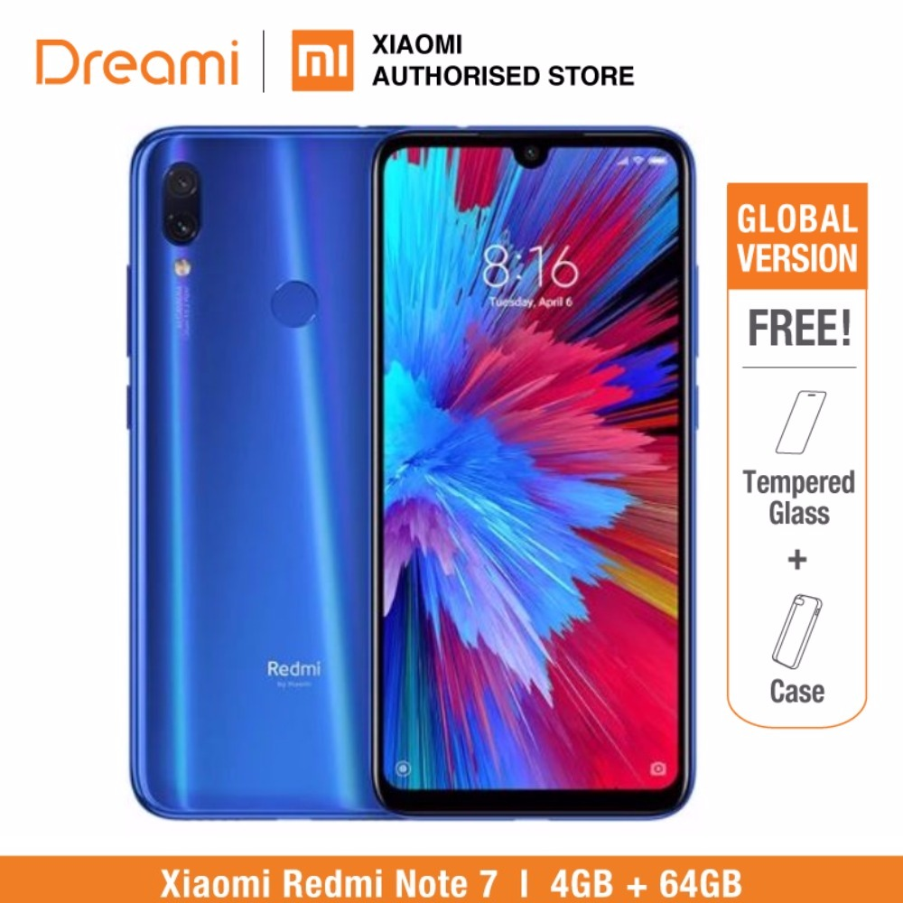 Global Version Redmi Note 7 64GB ROM 4GB RAM (Brand New and Sealed Box), note7 64gb