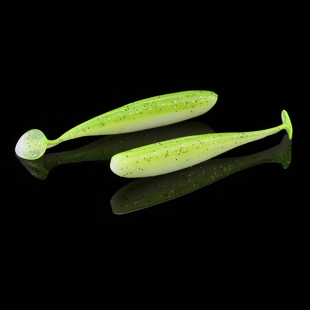 Silicone 2-Tone Color Soft Swimbait