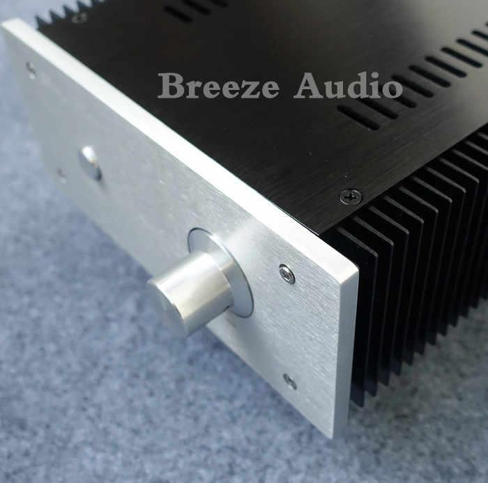 BZ2109B полностью алюминиевый аудио усилитель шасси усилитель мощности Корпус предусилителя корпус DIY коробка 211 мм * 90 мм * 257 мм