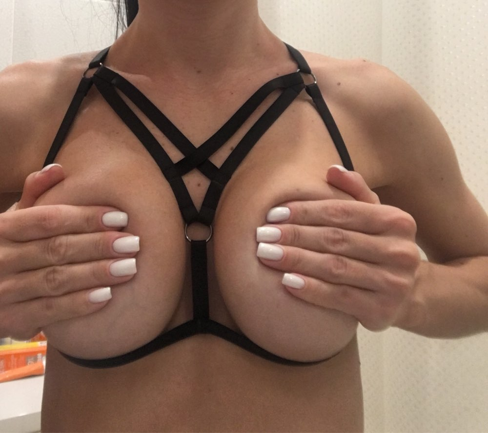Black Fashion Body Harness photo review