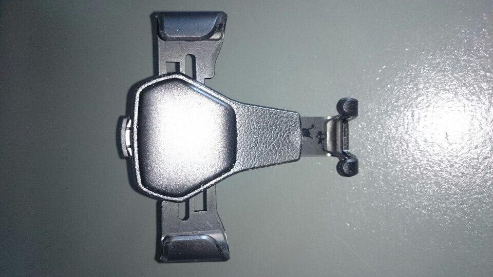 Support téléphone voiture grille aération photo review