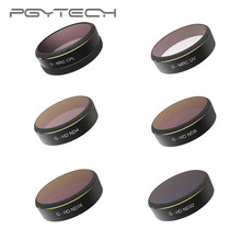 PGYTECH DJI Phantom 4 PRO ND Filter 6pcs/set UV/CPL/ND4/8/16/32 HD Drone Quadcopter Lens Filters for Phantom 4 PRO Accessories консервы petreet natura кусочки розового тунца с сельдереем для кошек 70г