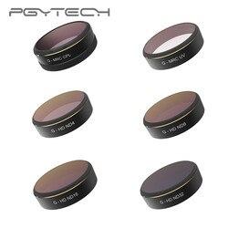 PGYTECH DJI Phantom 4 PRO ND Filter 6pcs/set UV/CPL/ND4/8/16/32 HD Drone Quadcopter Lens Filters for Phantom 4 PRO Accessories