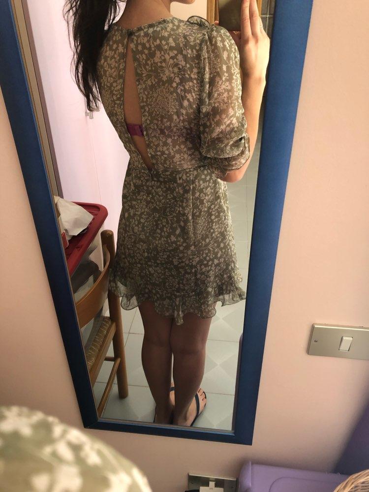 Ruffles Mini Sexy Women Dresses Chiffon Short Party Dress  Robe Femme Summer Dress Vestidos Transparent photo review