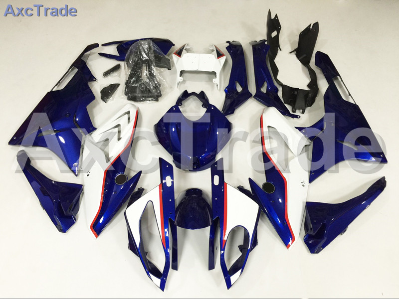Motorcycle Fairings Kits For BMW S1000RR S1000 2015 2016 15 16 ABS Plastic Injection Fairing Bodywork Kit White Black A451 motorcycle blue bodywork kit fairing for bmw s1000rr s 1000 rr s 1000rr 2015 15 injection mold fairings cowl set uv painted