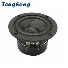 Speaker HIFI Midrange Bluetooth Audio 3inch 4/8ohm Outdoor 1 15W Tenghong 1pcs Basin
