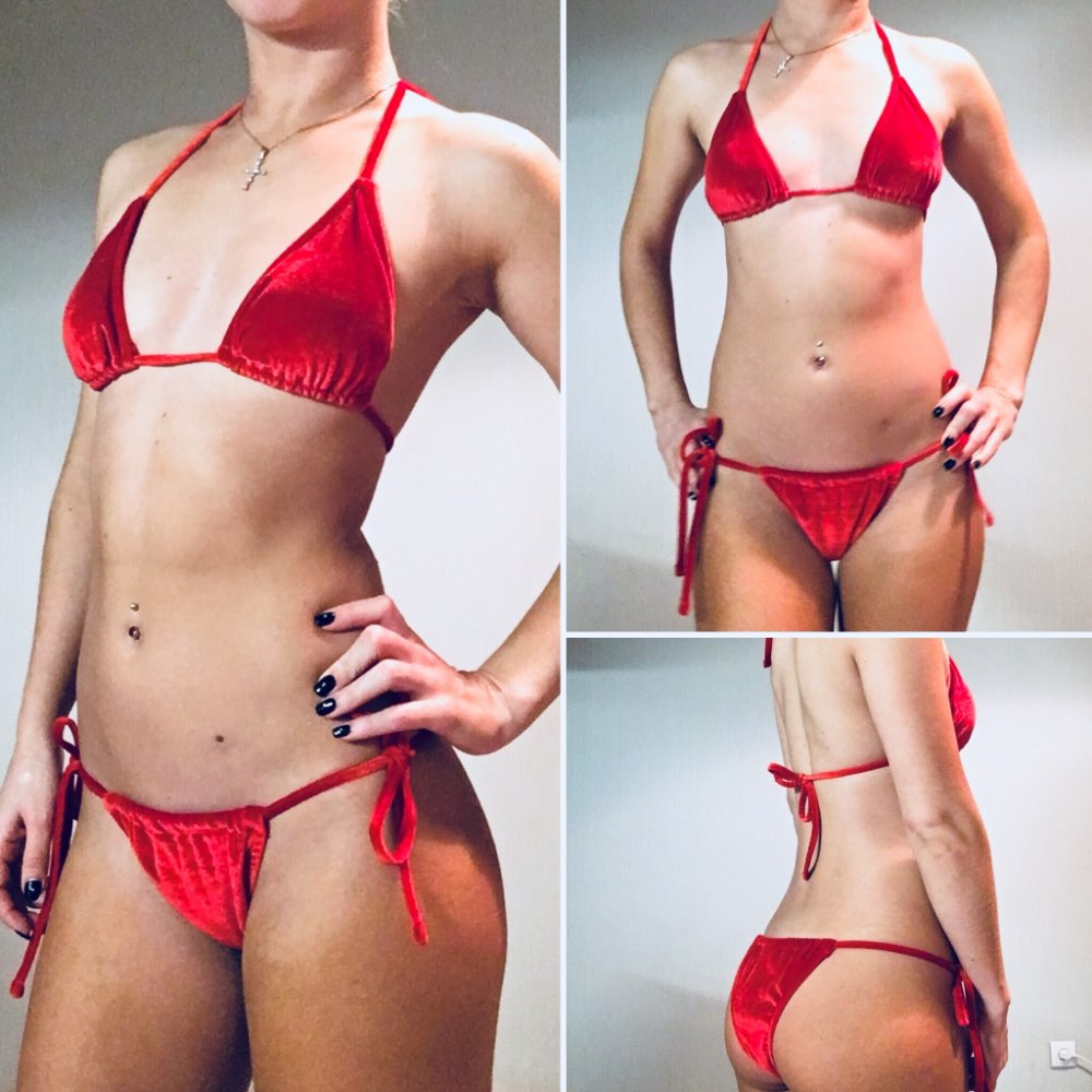 2018 NEW Velvet Bikini Set Women Swimsuit Monokini Bodysuit Swimming Suit Trikini Bathing Suits Swim Halter Thong Beach Swimwear