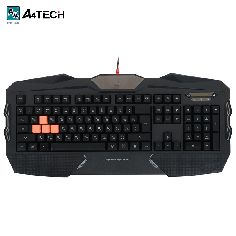 Gaming keyboard A4Tech Bloody B254 Officeacc gaming mouse a4tech bloody t6 winner officeacc
