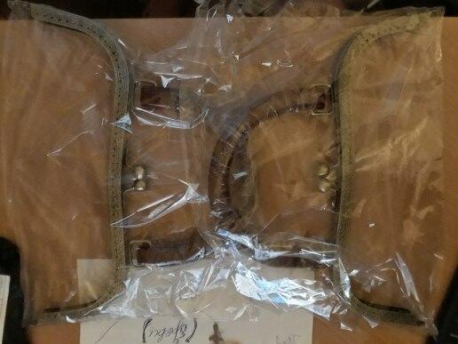 26cm big size metalen portemonnee frame sluiting met houten handvat DIY meisje handtas accessoires 2pcs / lot photo review
