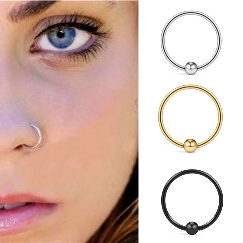 Piercing Nose Rings And Studs 925 Sterling Silver Body Chain