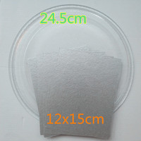 Revolving Tray 24 5cm Flat Microwave Glass Plate 5pcs 12x15cm Mica Plate For Microwave Oven Microwave