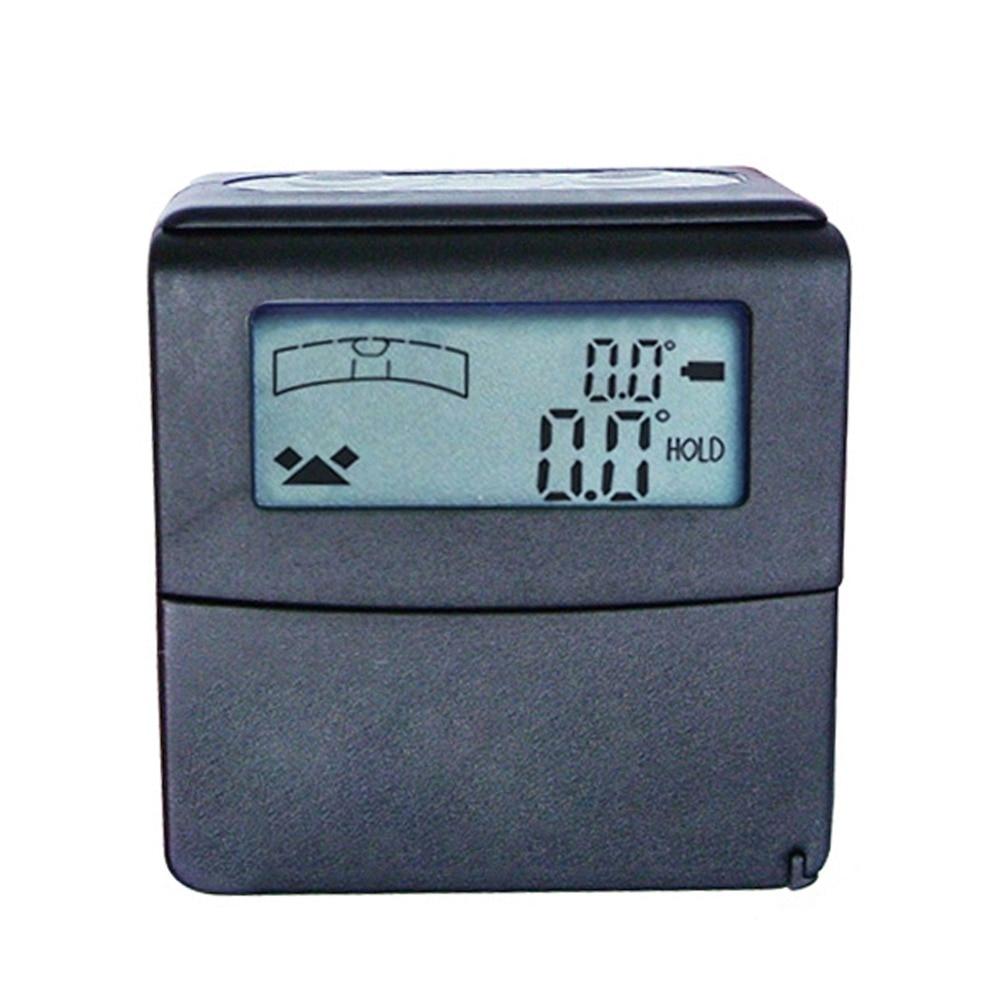 Mini Digital Level +/ 180 degree Range Angle Finder Tilt Gauge Bevel Box with Magnetic base and V groove
