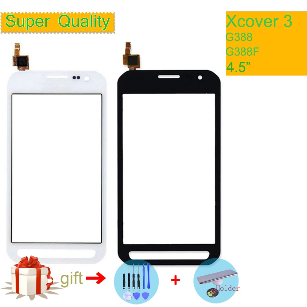 For Samsung Galaxy Xcover 3 G388F XCover3 G388 SM-G388F Touch Screen Panel Sensor Digitizer Glass Touchscreen NO LCD Replacement