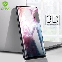 CHYI 보호 fiilm 테크 믹스 2 초 화면 보호기 mi 믹스 2 실리콘 3D 수리 스크래치 초박형 방폭