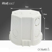 Настенная панель 73*62 мм, европейская стандартная кассета, универсальная распределительная коробка для монтажа в стену для настенного выключателя и розетки