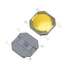 UXCELL 50PCS 4.8x4.8x0.8mm Panel PCB DIP Waterproof Momentary Push Button Switch 4 Pin Used In The Fields Of Electronic Products