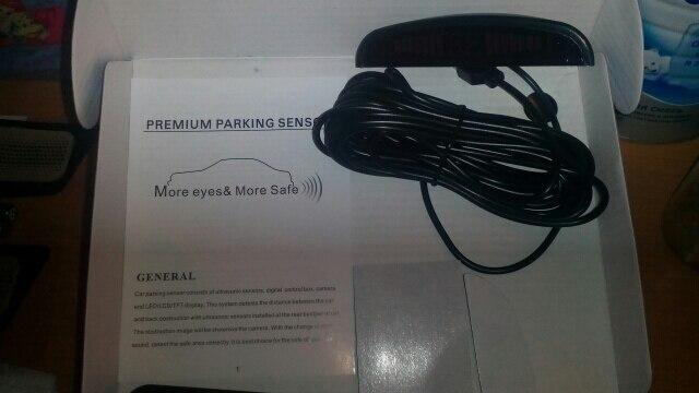 Один набор Led Парковка Сенсор авто детектор парктроник Дисплей Обратный резервного Радар Monitor Системы с 4 Сенсор s
