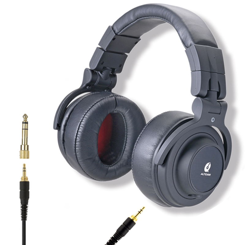 Fashion Design 3.5 mm Big Large Wired Audio Stereo Professional High End Hifi Bass Musical Over Ear DJ Studio Monitor Headphones oneodio wired headphones studio professional dj headphone with microphone over ear monitor studio headphones dj stereo headsets